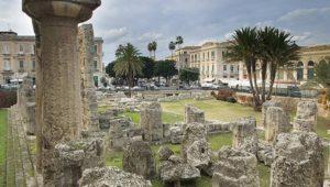 Ortigia tempio di apollo