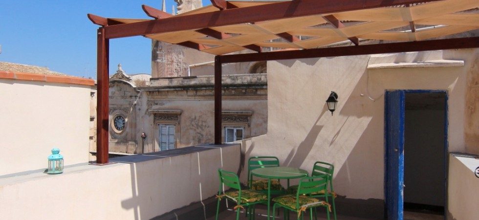 Ortygia mansion with terrace